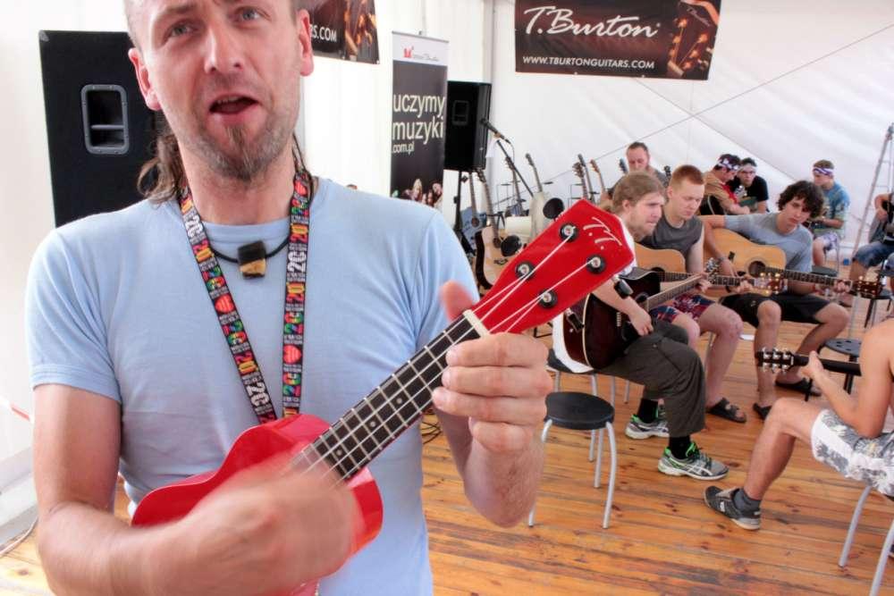 warsztaty gry na gitarze woodstock
