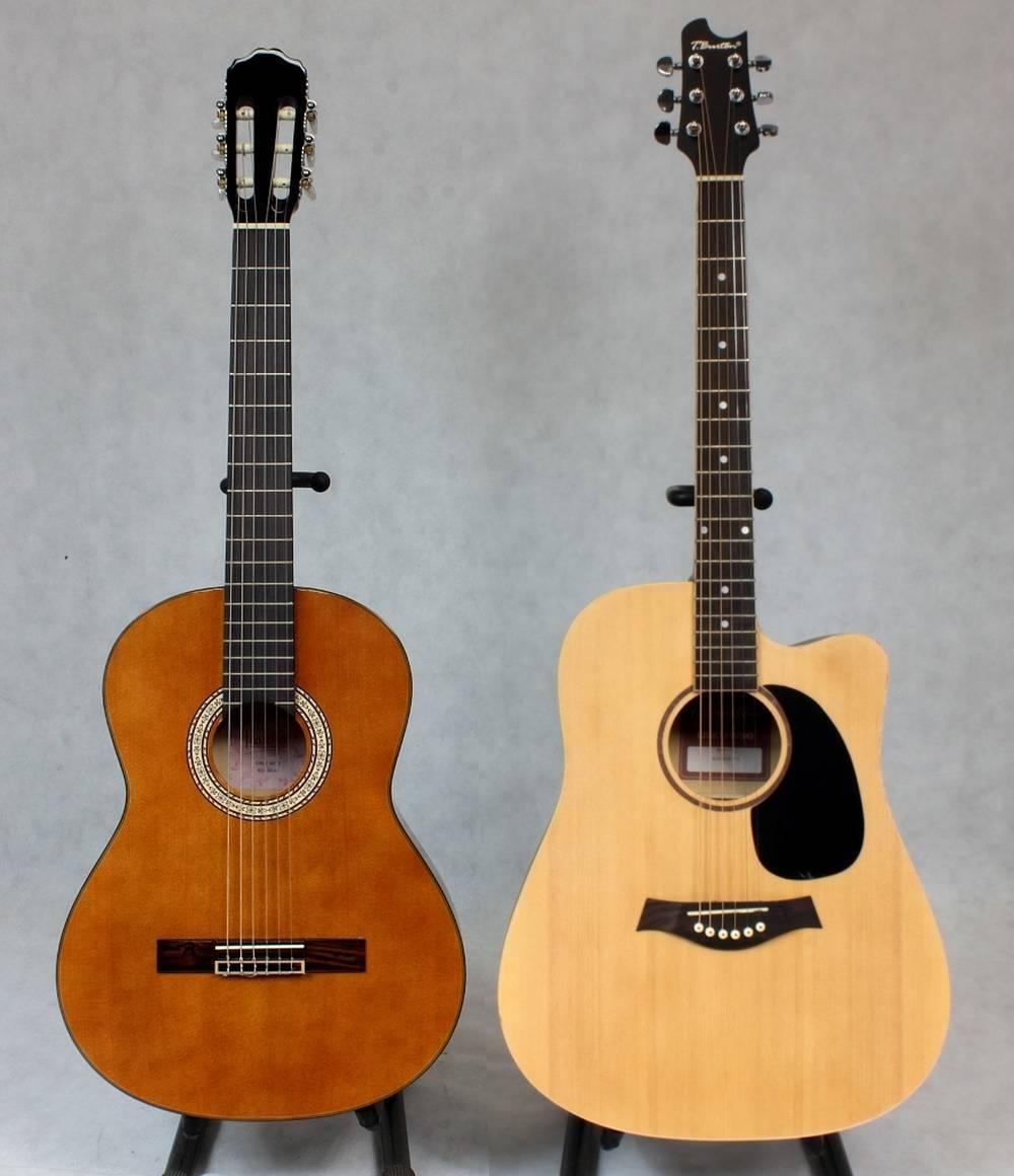 gitara akustyczna klasyczna różnice