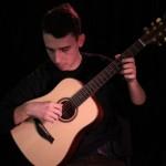 dobra gitara akustyczna 3/4