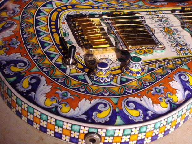 ceramic guitar