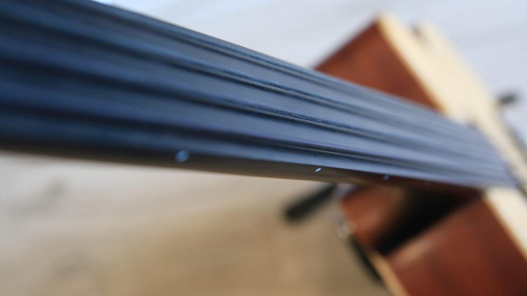 fretless fretboard podstrunnica bas akustyczny acoustic bass t.burton
