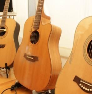 testowanie gitary akustyczne