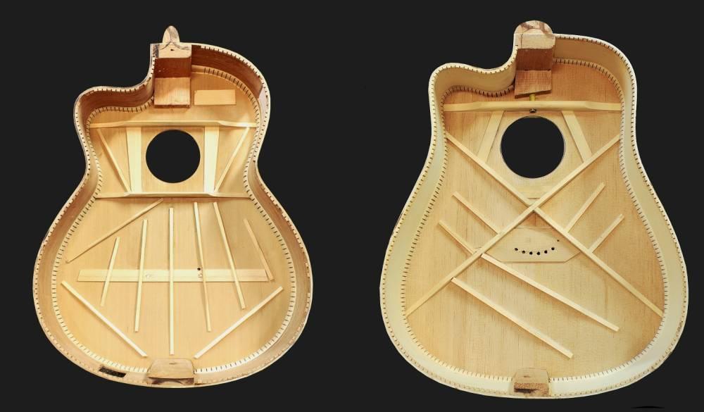 czym się różni gitara akustyczna od klasycznej