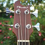 bas akustyczny t burton gitara basowa acoustic bass guitar